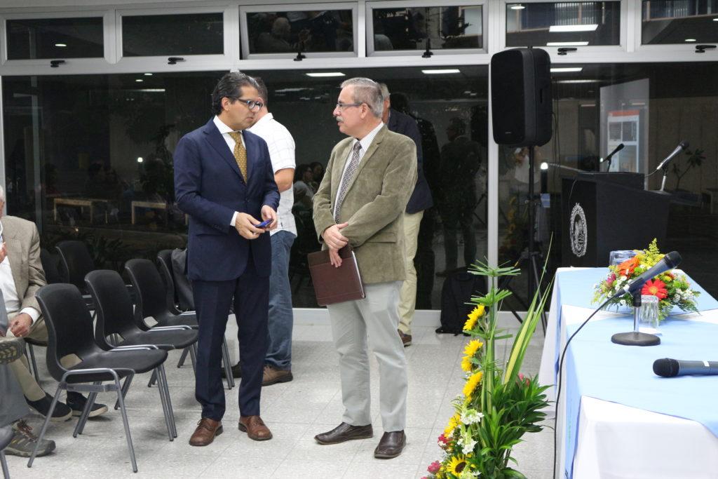Dr. Manuel Martínez Herrera and Edgar Mora Altamirano