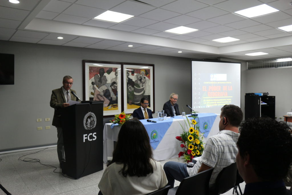 Dr. Manuel Martínez Herrera, Dean, Faculty of Social Sciences, University of Costa Rica welcoming participants during the Opening Ceremony