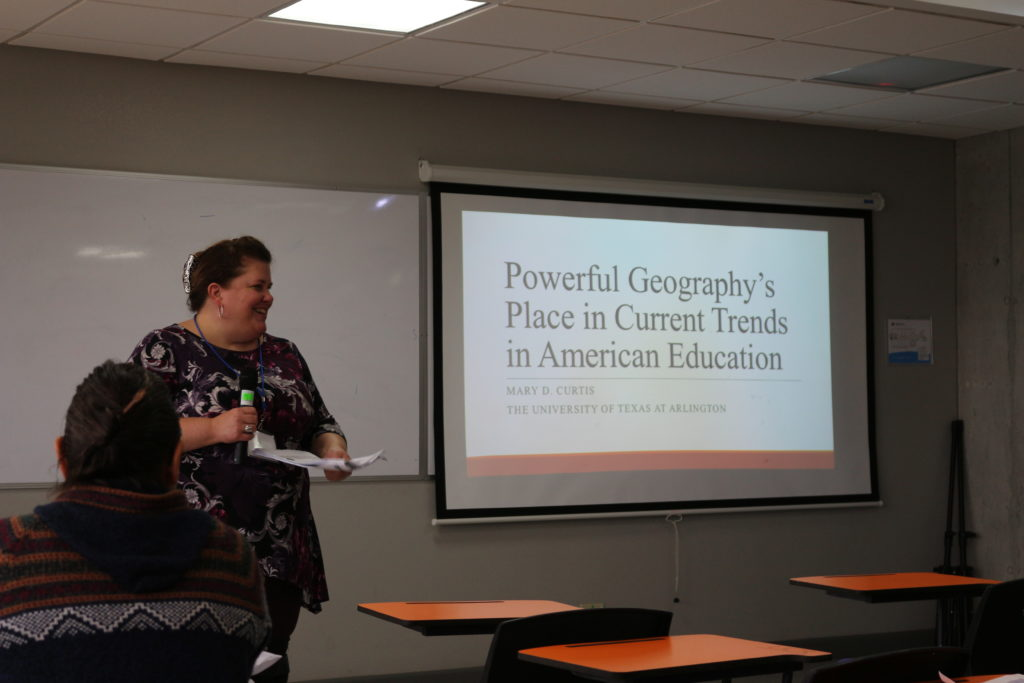 """Powerful Geography's Place in Current Trends in American Education"" Mary Curtis University of Texas at Arlington, UNITED STATES"