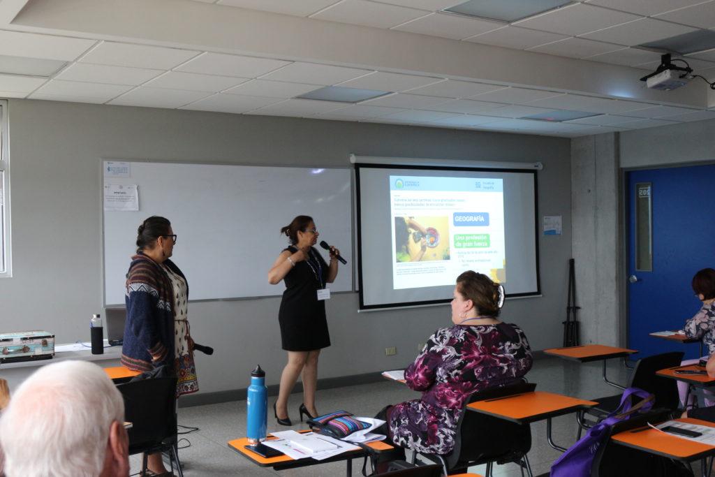 """""""Aprender Geografía: Innovación didáctica en educación superior"""" Victoria González García y Isabel Avendaño Flores Universidad de Costa Rica, COSTA RICA"""