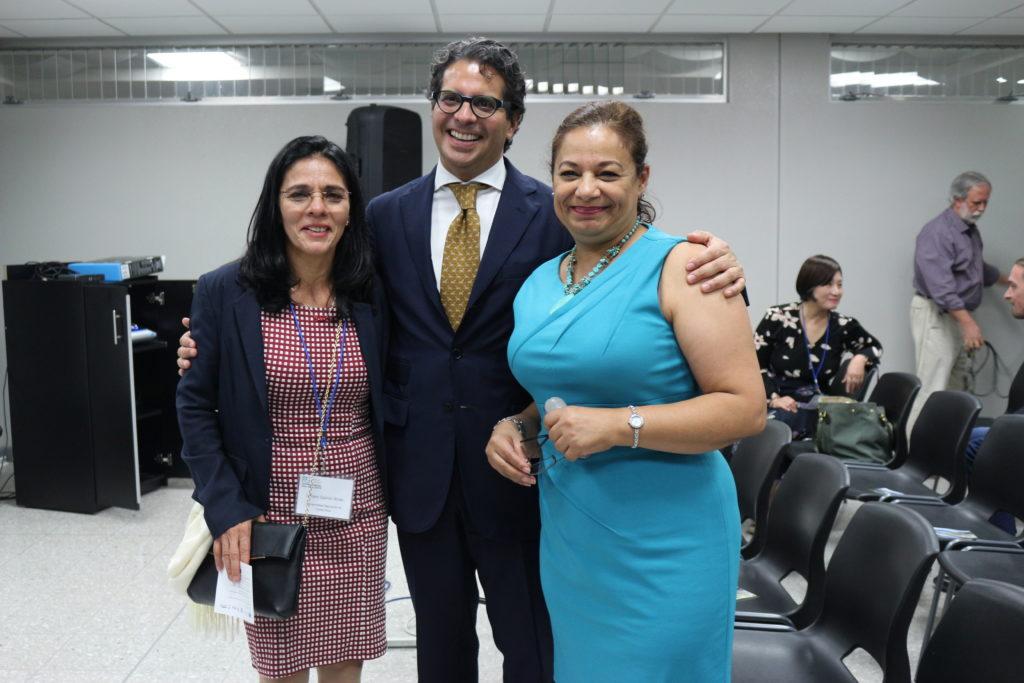 Opening Ceremony -- Lilliam Quirós Arias, Edgar Mora Altamirano, Isabel Avendaño Flores