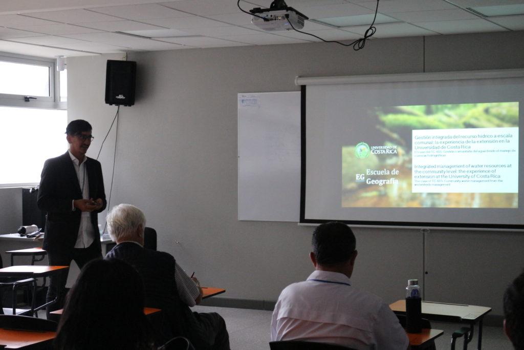 """""""Gestión integrada del recurso hídrico a escala comunal: la experiencia de la extensión en la Universidad de Costa Rica"""" Marlon Morúa Pérez. Universidad de Costa Rica, COSTA RICA"""