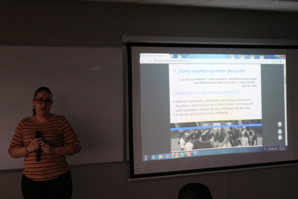 """""""El trabajo de campo como estrategia didáctica en la enseñanza de la Geografía"""" Daniela Retana Quirós. Universidad de Costa Rica, COSTA RICA"""